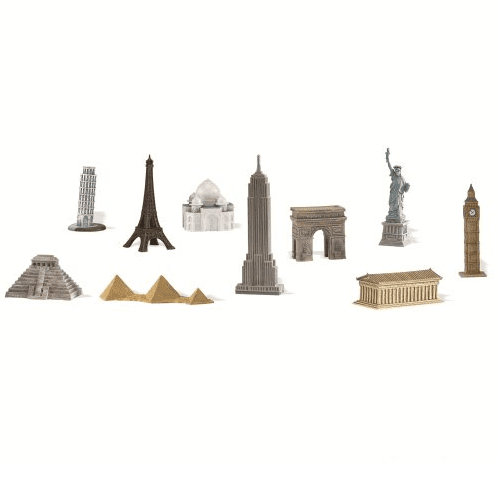 Around The World Figurine | Bon Voyage Party Supplies