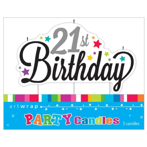 21st Birthday Candle | 21st Birthday Party