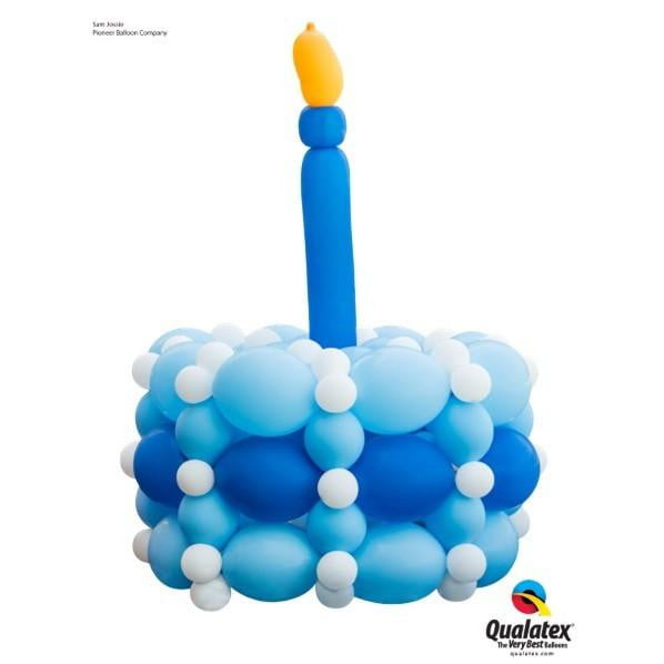 Balloon Birthday Cake | 1st Birthday Party Decorations