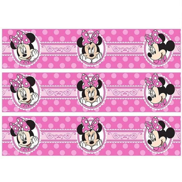 Minnie Mouse Cake Strip Edible Images