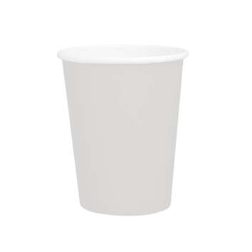 White Cups | White Party Supplies