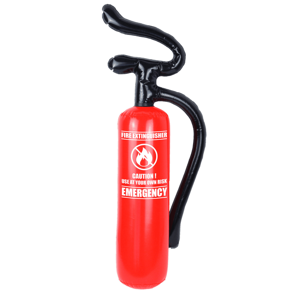Inflatable Fire Extinguisher | Fireman Party Supplies