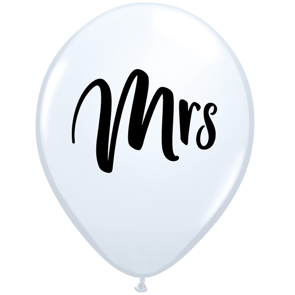 Qualatex | Mrs Balloon | Wedding Balloons