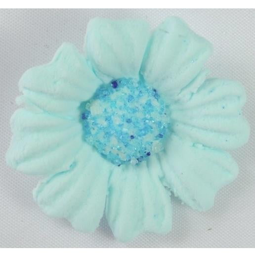 Starline | Icing Daisy 40mm Edible Decoration - Blue