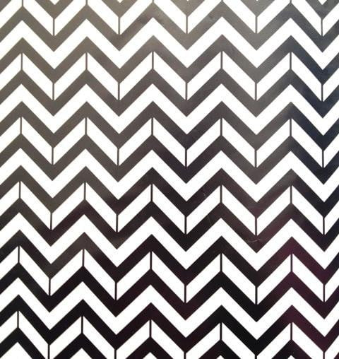 Black & White Chevron Tablerunner | Tablerunner themes and supplies