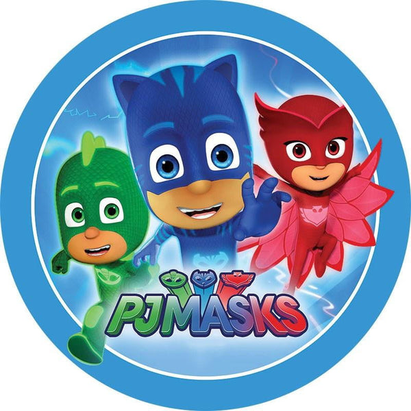 Pj Masks Edible Cake Image Build A Birthday