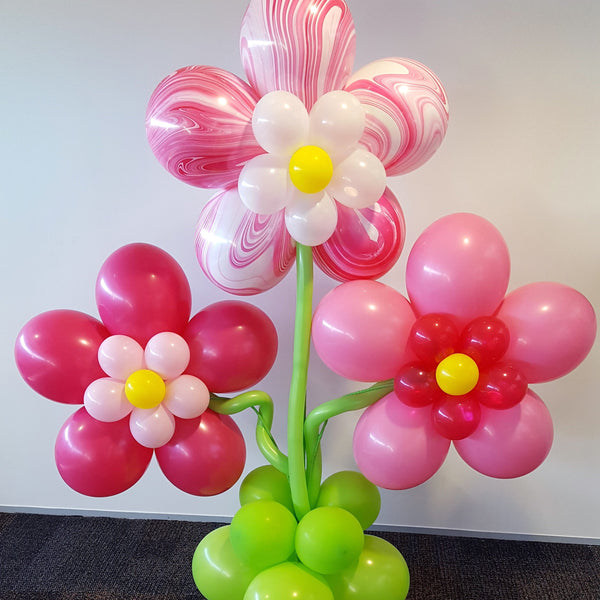 Flower Balloon Decor | Floral Party Decorations