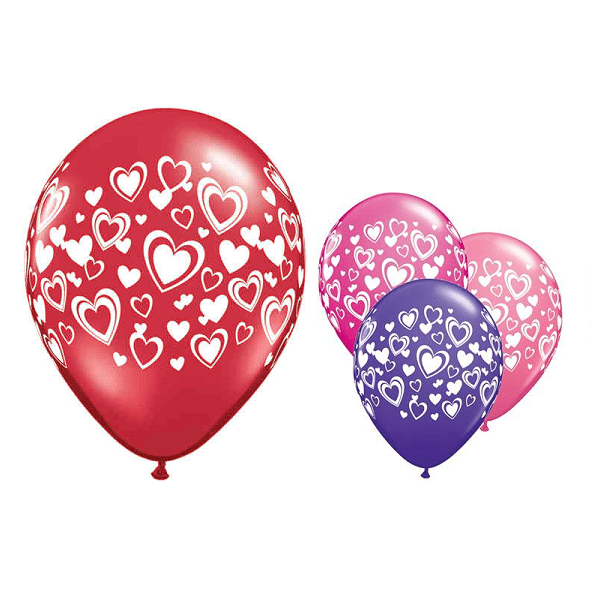 Double Hearts Balloon