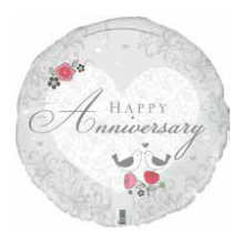 Anniversary Foil Balloon | Anniversary Gifts