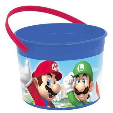Amscan | Super Mario Brothers Treat Container | Super Mario Brothers