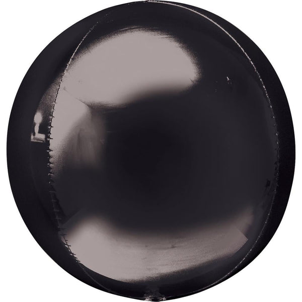 Qualatex | Black Orbz Balloon | Black Party Supplies