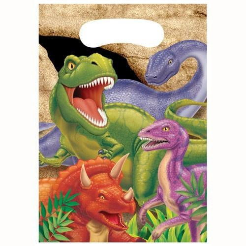 Dinosaur Loot Bags | Dinosaur Party Supplies