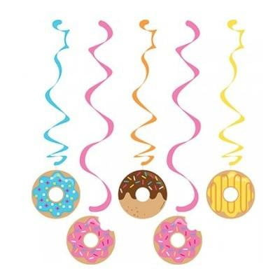 Creative Converting | Dizzy Danglers Donut Party Decorations