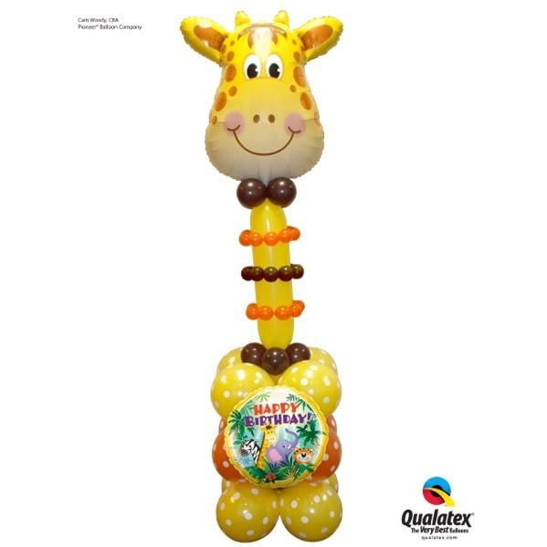 Giraffe Balloon | Safari Animal Party | Giraffe Party