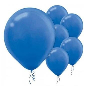 Amscan | Value Balloons Pack of 15 - Bright Royal Blue
