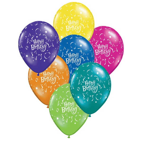 Happy Birthday Balloons Build A
