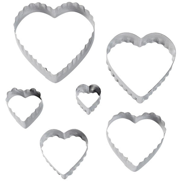 Wilton | Heart Fondant & Cookie Cutters | Princess Party