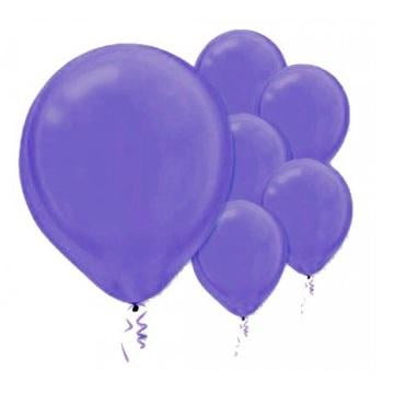 Amscan | Value Balloons Pack of 15 - New Purple