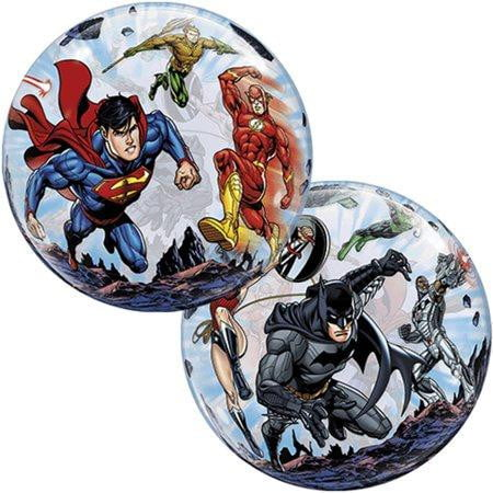 Qualatex | Justice League Bubble Balloon | Justice League Party Theme & Supplies |