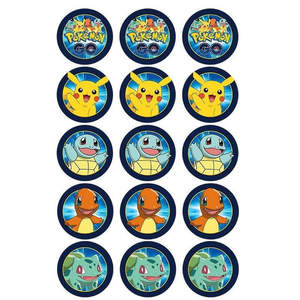 Pokemon Edible Cupake Images | Pokemon Party