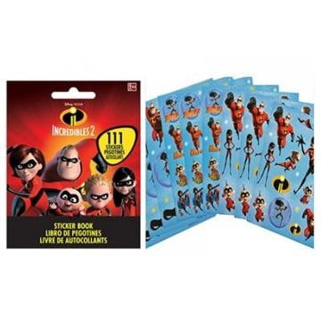 Amscan | Incredibles 2 Sticker Book | Incredibles 2 Party Theme & Supplies