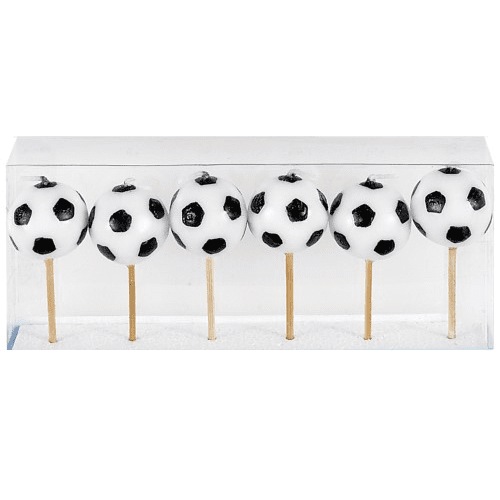 Soccer Ball Candles | Soccer Party Supplies