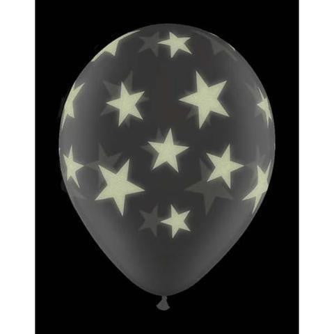 Qualatex | Diamond Clear Glow Stars Balloon