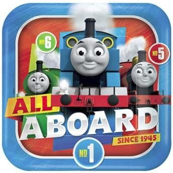 Designware | Thomas the Tank Engine Square Plates - Dinner