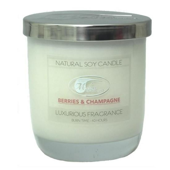 Molten NZ | Berries & Champagne Soy Candle | Valentines Day