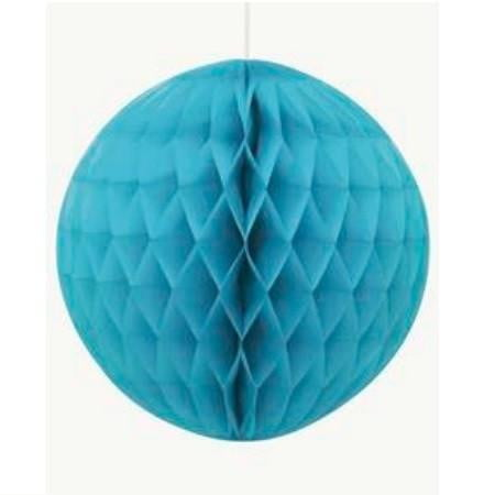 Unique | Caribbean Teal Honeycomb Ball