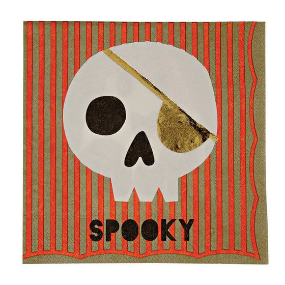 Meri Meri Something Wicked Halloween Napkins - Lunch | Halloween Party Theme & Supplies