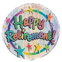 Retirement Balloon | Retirement Party Supplies