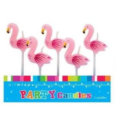 Flamingo Candles | Luau Party | Hawaiian Party | Pool Party
