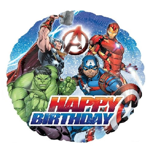 Avengers Happy Birthday Balloon | Avengers Party Supplies