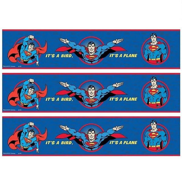 Superman Cake Strip Edible Images