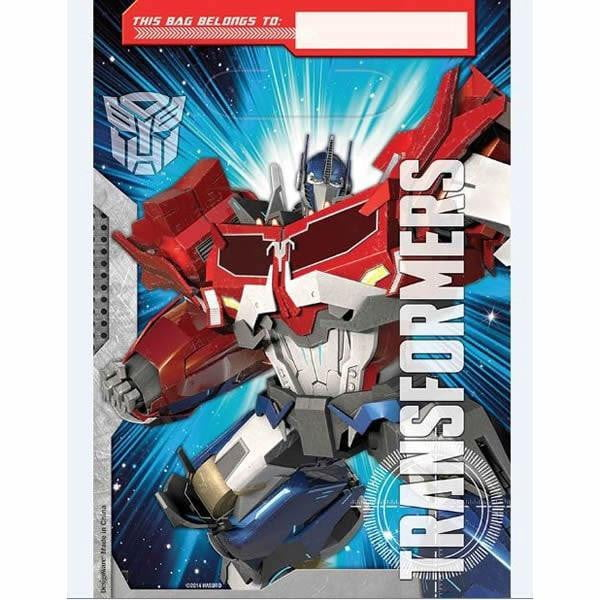 Transformers Loot Bags | Transformers Party Theme & Supplies
