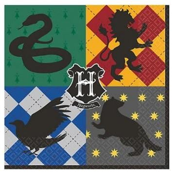 Amscan | Harry Potter Napkins - Lunch | Harry Potter Party Theme & Supplies