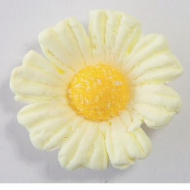 Starline | Icing Daisy 40mm Edible Decoration - Yellow
