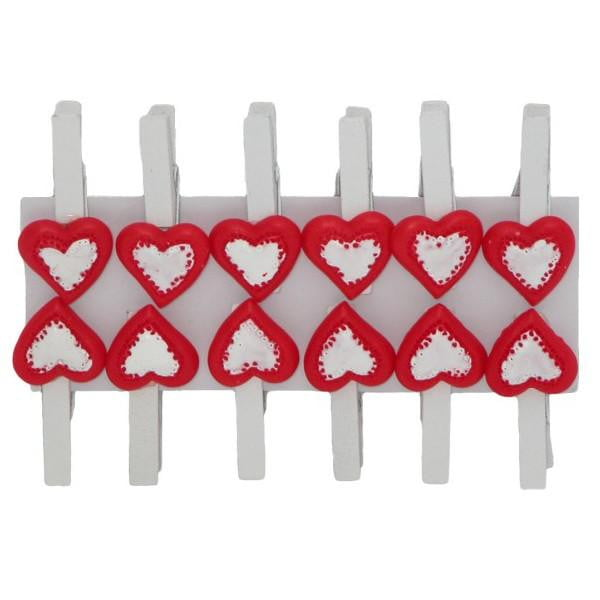 Heart Peg | Valentines Day Gift Wrap