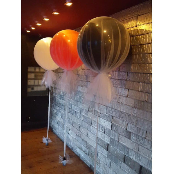 Tulle Covered Jumbo Balloon