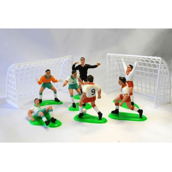 Soccer Cake Topper Set | Soccer Party Theme and Supplies