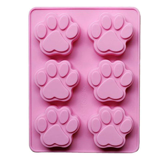 Paw Print Silicone Mould | Animal Party Theme & Supplies
