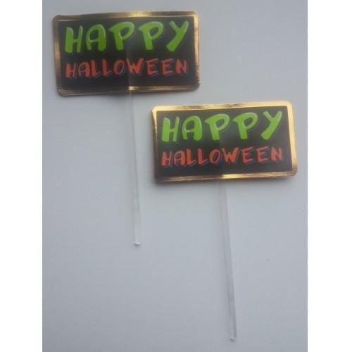 Wilton | Happy Halloween Cupcake Toppers | Halloween Party Theme & Supplies