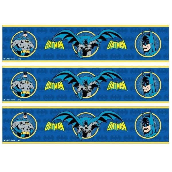 Batman Cake Strip Edible Images