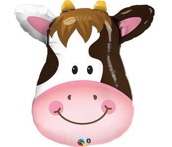 Cow Foil Balloon | Farmyard Party Theme and Supplies