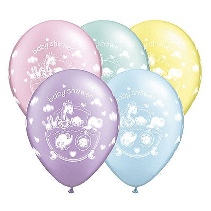 Qualatex | Adorable Ark Baby Shower Balloon