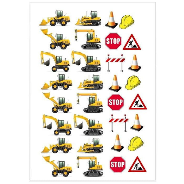 Construction Icons Edible Images | Construction Party Theme & Supplies