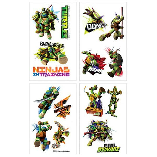 Teenage Mutant Ninja Turtle Tattoos | Teenage Mutant Ninja Turtle Party