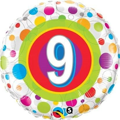 9th Birthday Balloon | 9th Birthday Party Supplies