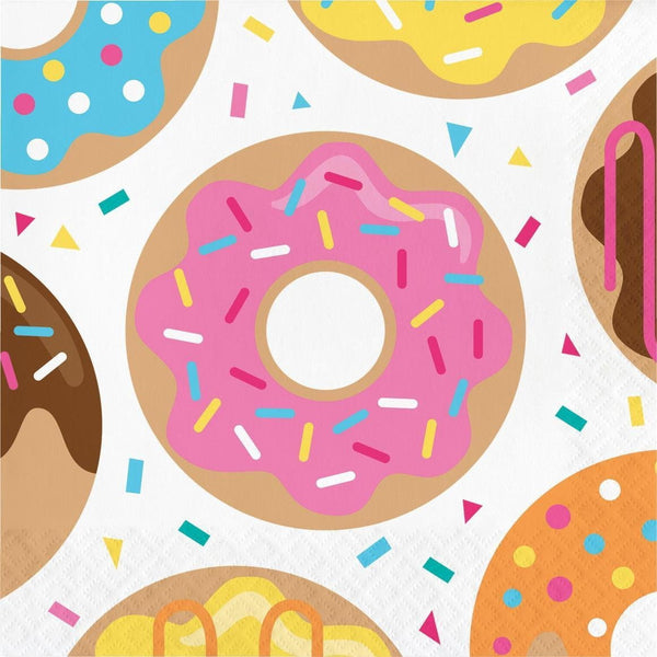 Donut Time Lunch Napkins | Donut Party Supplies